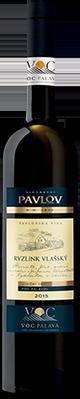 Ryzlink vlašský 2015 VOC Pálava